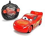 Dickie Toys 203084003 - 'Cars 3 Turbo Racer Lightning McQueen', RC Fahrzeug, ferngesteuertes Auto, 1:24, 17cm