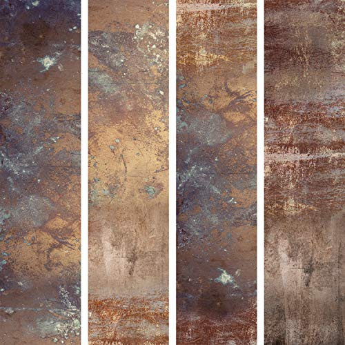 murando - PURO TAPETE selbstklebend 10m Wandtattoo dekorative Möbelfolie Dekorfolie Fotofolie Panel Wandaufkleber Wandposter Wandsticker - Marmor Beton Modern Rostig f-C-0223-j-a