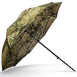 g8ds 45er Schirm Angelschirm Camouflage Brolly Angelausrüstung Karpfenangeln