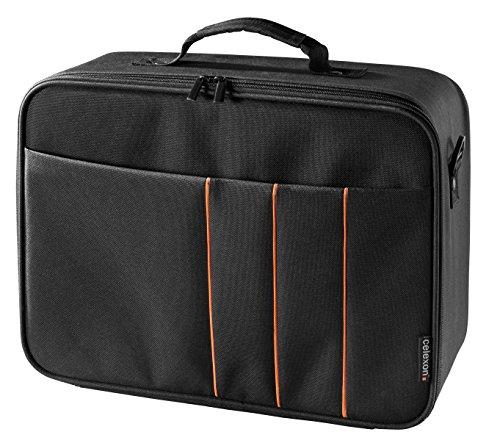 celexon Beamertasche Economy 'Large' 41x29x15 cm | Transporttasche mit Hartschalenrahmen | Wasserabweisend & abwaschbar | für Acer, Epson, Benq, LG, Optoma, Sony, ViewSonic...