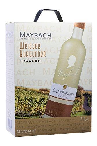 Maybach Weißer Burgunder Weißwein trocken Bag-in-Box (1 x 3 l)