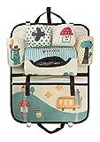 Cartoon Auto Rücklehnentasche Organizer Oxford Rückenlehnenschutz Rückenlehnentasche Flasche Isoliertasche Utensilientasche für Reise und Unterwegs
