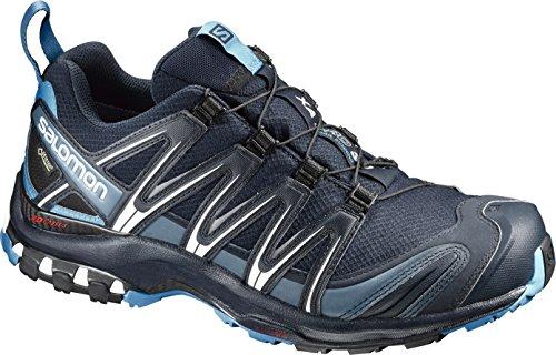 Salomon Herren XA Pro 3D   Trailrunning-Schuhe, dunkelblau (navy blazer/hawaiian ocean/dawn blue), Gr. 44 2/3 EU
