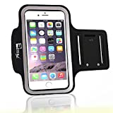 RevereSport Armband Kompatibel iPhone Plus 8/7/6 Mit Fingerprind-Identifizierung. Sportarmband Telefon Handyhalter Case für Laufen, Joggen, Fitnessstudio Workouts & Fitness