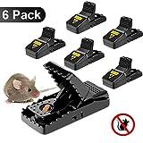 Mausefalle Lebend, Mausefalle mit köder, Wiederverwendbar Mouse Trap Rattenfalle Kastenfalle Einfach zu Bedienen, Effizient