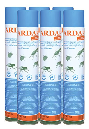 Quiko Ardap Spray 6 x 750ml