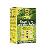 COMPO Rasenunkraut-Vernichter Perfekt, flüssiges Rasenherbizid-Konzentrat, gegen zweikeimblättrige Unkräuter im Rasen
