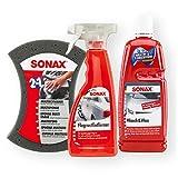 SONAX Wash&Wax Glanz Konservierung MultiSchwamm FlugrostEntferner Reinigung