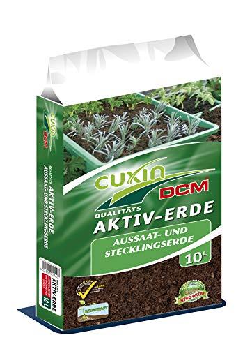 Anzuchterde 10l 20l 30l 40l 50l verschiedene Größen  Aussaaterde feine Mischung mit leichter Startdüngung  für Gemüse und Kräuter (10l)