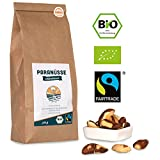 Bio Fairtrade Paranuss-Kerne: Naturbelassen (500g)