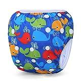 Storeofbaby Schwimmwindeln Wiederverwendbare Schwimmhosen für Neugeborene 0-36 Monate