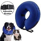 Aufblasbare Halskrause für Hunde und Katzen, um zu verhindern, dass nach einer Operation die Haustiere die Nähte berühren, S
