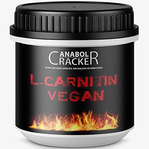 380 Kapseln L-Carnitin Vegan, hochdosiert 2000mg Tagesdosierung, für Veganer geeignet, ohne Zusätze, deutsche Qualität / Herstellung