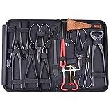 Generic Ki Extensive Kit Werkzeug Se Carbon Steel t C Cutter Schere Schere Bonsai-Werkzeugset lon Etui Nylon Tasche