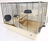 Grosvenor 2 Ebenen & Ebenen 3 Tier Großer Hamsterkäfig / Rattenkäfig Mit GRATIS Wasserflasche (Langham (3 Ebenen)