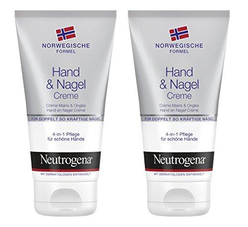Neutrogena norwegische Formel Hand & Nagel Creme, 2 x 75 ml