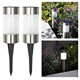 Frostfire Small Solar Post Lights