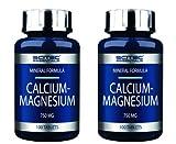 Scitec Nutrition 2 x Calcium-Magnesium 100 Tabletten (2erPack = 200 Tabletten)