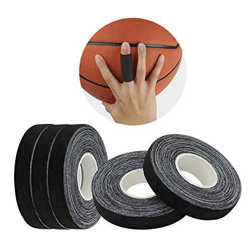 JEEZAO 5er Set Klettern Finger Tape,BJJ Tape,Boulder Tape 15mm/10mmx13.7m, ideales Fingertape und Sporttape für Bouldern Kraftsport Volleyball Handball Kampfsport Torwart Golf