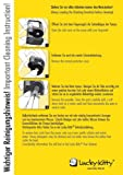 Lucky-Kitty Katzenbrunnen Qualitätspumpe mit Netzteil