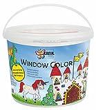 Kreul 40155 - Kinder-Bastelset - Window Color C2, Power Pack