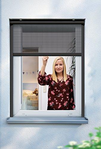 Schellenberg Insektenschutzrollo für Fenster 100x160cm weiß