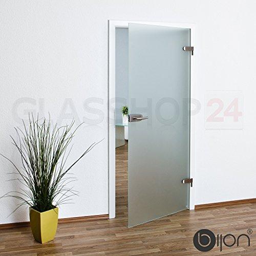 Glastür Ganzglastür T3 | 709x1972mm | DIN Links// kostenloser Versand