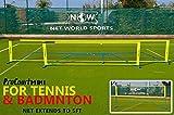 ProCourt Mini Tennis-/Badmintonset [Net World Sports] (Tennis-/Badminton Set 5.5m)