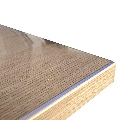 Originale Tischdecke Tischfolie hochglanz abwaschbar nach Maß 60 x 60 cm (in allen Größen erhältlich) +'die abgeschrägte Kante' einmalig, Made in Germany