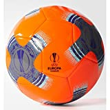 adidas Herren UEFA Europa League Capitano Fußball Trainingsball, Sorang/Ironmt/Black, 5