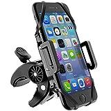Beikell Handyhalterung Fahrrad, 360° Drehbarer Universal Motorrad Handyhalter - für iPhone X/8/7/6, Samsung und Handy mit 4,3-6,5 Zoll