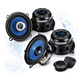 SINUSTEC Front/Heck 13cm/130mm Auto Lautsprecher/Boxen/Speaker Komplett-Set kompatibel für Renault