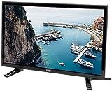 Xoro HTL 1946 47 cm (18.5 Zoll) LED Fernseher (HD-Ready, Triple Tuner DVB-S2/T2/C H.265/HEVC-Decoder, PVR Ready + Timeshift, USB 2.0 Mediaplayer, CI+, 12V) [Energieklasse A] schwarz