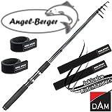 DAM Camaro Tele Spin Teleskoprute Spinnrute alle Modelle mit Angel Berger Rutenband (2,70m / 30-60g)