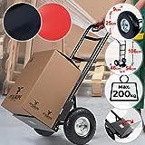 Jago Sackkarre bis 200kg | klappbar, aus Stahl, 116 x 54 x 46 cm, Farbwahl | Transportkarre, Handkarre, Stapelkarre