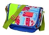 sigikid, Jungen, Kindergartentasche Fahrzeuge, Traffic, Kinder-Sporttasche, 22 cm, Blau/Grün, 24670