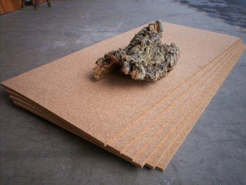 Korkplatte, Stärke: 5 mm, Format 500 x 1000 mm