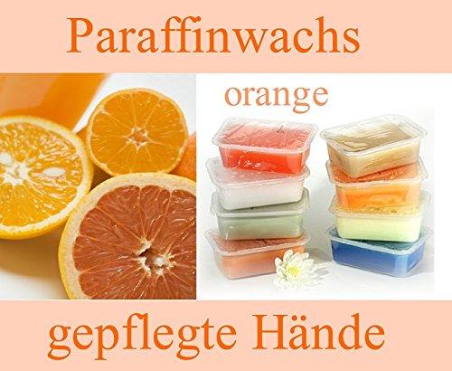 Paraffinwachs 5 x 400gr. Block Orange