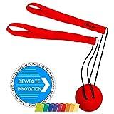 TwistFit original u. patentiert - Fitness-Studio im Taschenformat Rot