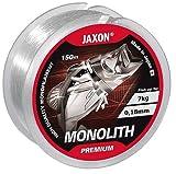 Angelschnur JAXON MONOLITH PREMIUM 150m / 0,10mm-0,35mm Spule Einzelschnüre Monofile NEU&OVP (0,02€/m) (0,18mm / 7kg)