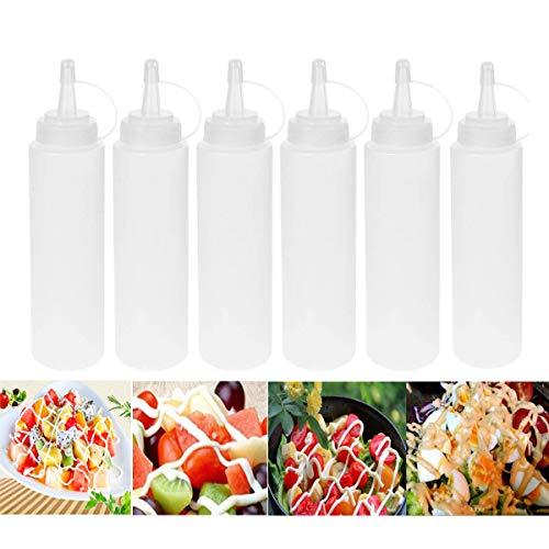 iWerDon 6 x 200 ml Quetschflaschen