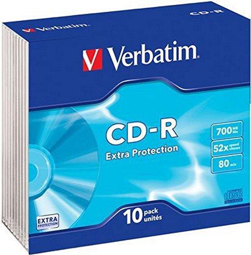CD-R 80 / 700MB Verbatim Slim-Case