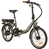 REMINGTON City Folder 20 Zoll Faltrad E-bike Klapprad Pedelec StVZO, Farbe:silber