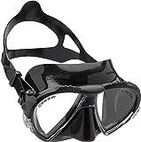 Cressi Unisex Ranger Tauchen Schnorcheln Maske,Schwarz ,DS302050,one size