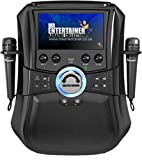 Mr Entertainer Megabox Bluetooth Karaoke Machine with Screen. CDG/DVD/MP3G/USB/RECORD. Karaoke-Maschine mit Bildschirm, 2 Mikrofonen und 200 Liedern