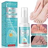 Fußpilz Spray, Fußspray, Athlete Foot Spray, Die effizient Juckreiz und Entzündungen an den Füßen steuern, kuriert und verhindert Pilzinfektionen, Bei Fußpilz, Fußschweiß und Fußgeruch, 50ml