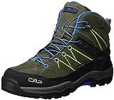 CMP Campagnolo Unisex-Kinder Rigel Trekking-& Wanderstiefel, Grün (Avocado), 35 EU