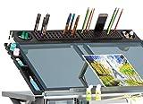 Studio Designs Art Tablett, Metall, anthrazit schwarz, 90x 16,5x 10cm