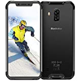 Blackview BV9600 Outdoor Smartphone ohne Vertrag 6,2 Zoll AMOLED Display, Helio P70 Android 9.0 Handy IP68 Wasserdicht, 16MP+8MP Kamera 4GB RAM+64GB interner Speicher, 5580mAh Akku 4G Globale Version