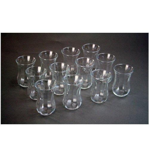 Pasabahce Türkische Teegläser Teeglas Tee Glas 'Optik' 12er-Set